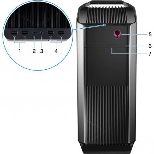 AlienwareR7 I7 8700K 16GB 512G Alternate-Image7/500