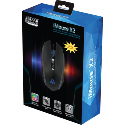 Adesso Multi Color 7 Button Programmable Gaming Mouse Alternate-Image7/500