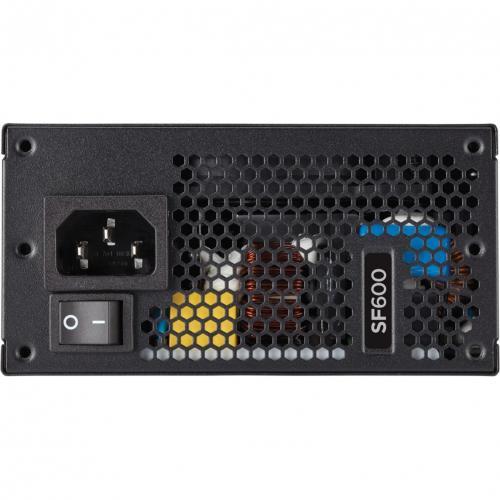 Corsair SF Series SF600   600 Watt 80 PLUS Platinum Certified High Performance SFX PSU Alternate-Image7/500