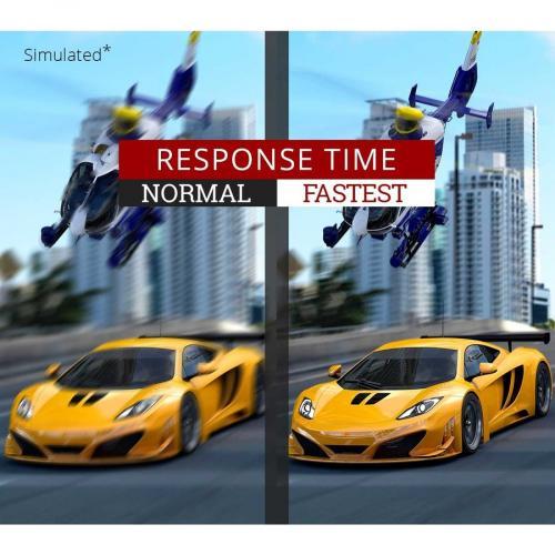 "Viewsonic Elite XG240R 24"" Full HD LED Gaming LCD Monitor   16:9   Black Alternate-Image7/500"