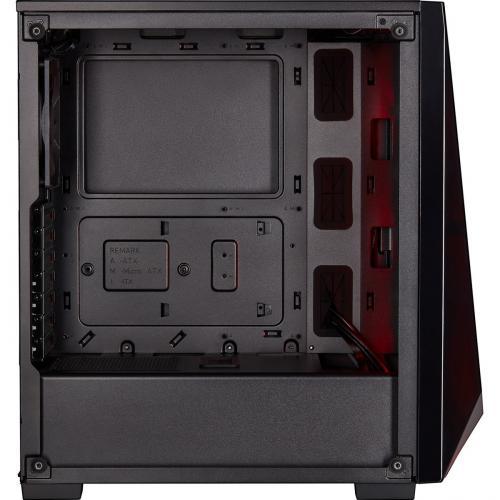 Corsair Carbide Series SPEC DELTA RGB Tempered Glass Mid Tower ATX Gaming Case   Black Alternate-Image7/500