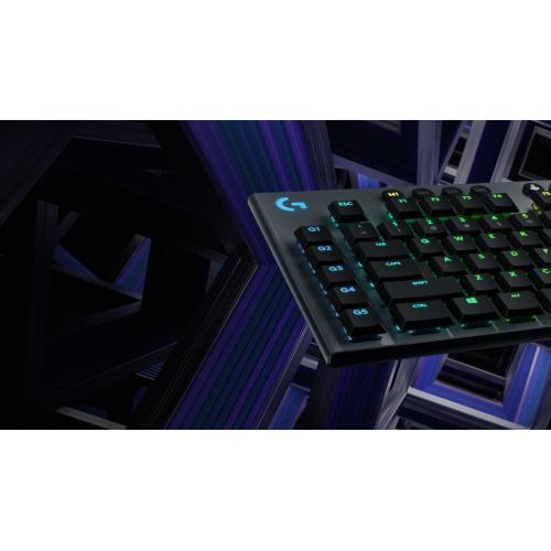 Logitech G815 Lightsync RGB Mechanical Gaming Keyboard Alternate-Image7/500