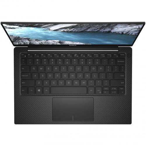"Dell XPS 13 9380 13.3"" Touchscreen Notebook   Intel Core I7 (8th Gen) I7 8565U Quad Core (4 Core)   8 GB RAM   256 GB SSD   Platinum Silver, Carbon Fiber Black Alternate-Image7/500"