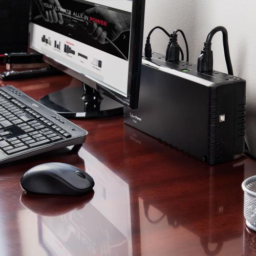 CyberPower Standby SL700U 700VA Slim Line UPS Alternate-Image7/500