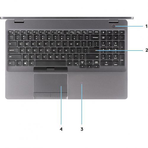 """Dell Latitude 5000 5501 15.6"""" Notebook   1920 X 1080   Intel Core I7 (9th Gen) I7 9850H Hexa Core (6 Core) 2.60 GHz   16 GB RAM   512 GB SSD Alternate-Image7/500"""