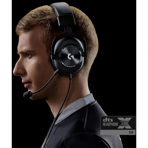 Logitech PRO X Gaming Headset With Blue Vo!ce Alternate-Image7/500