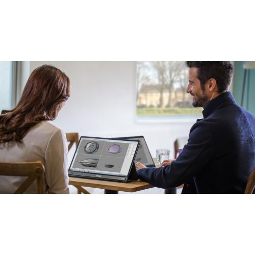 "Asus ZenScreen GO MB16AHP 15.6"" Full HD WLED LCD Monitor   16:9   Black, Gray Alternate-Image7/500"