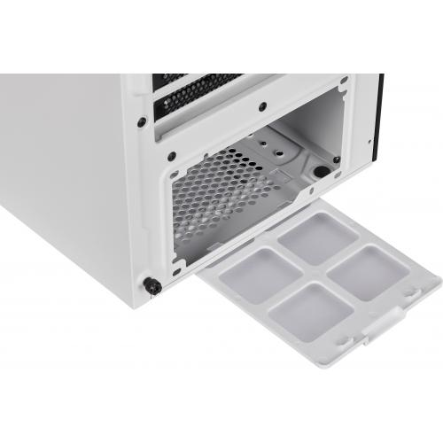 Corsair ICUE 465X RGB Mid Tower ATX Smart Case   White Alternate-Image7/500