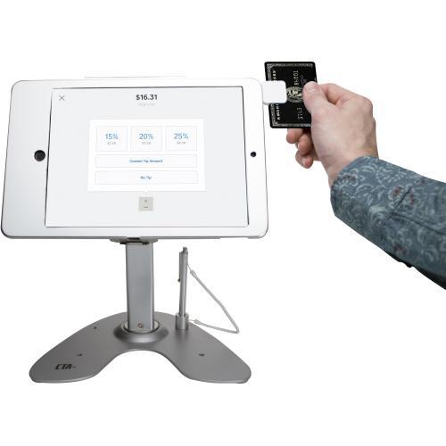 CTA Digital Desk Mount For IPad, Card Reader Alternate-Image7/500
