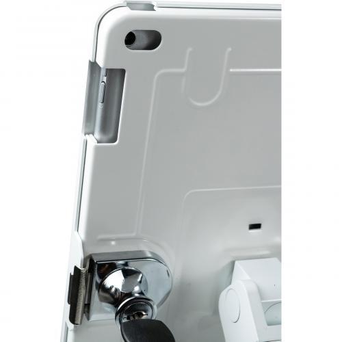 CTA Digital Desk Mount For IPad, IPad Air, IPad Pro, Card Reader   White Alternate-Image7/500