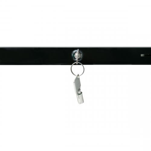 CTA Digital Premium Height Adjustable Floor To Desk Security Kiosk For Tablets Alternate-Image7/500