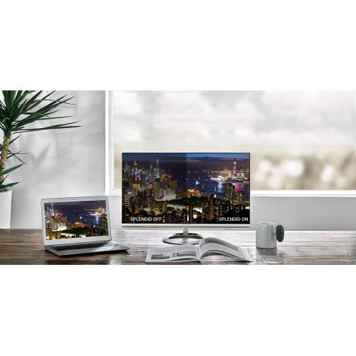 "Asus Designo MX27UCS 27"" 4K UHD LED LCD Monitor   16:9   Icicle Gold, Black Alternate-Image7/500"