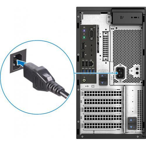 Dell Precision 3000 3630 Workstation   Core I7 I7 9700K   16 GB RAM   256 GB SSD   Mini Tower Alternate-Image7/500
