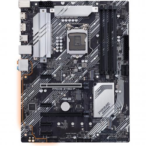 Asus Prime Z490 P Desktop Motherboard   Intel Chipset   Socket LGA 1200 Alternate-Image7/500