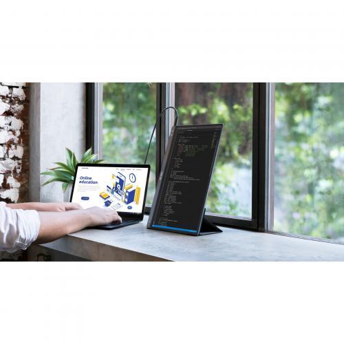 """Asus ZenScreen MB14AC 14"""" Full HD LCD Monitor   16:9   Dark Gray Alternate-Image7/500"""