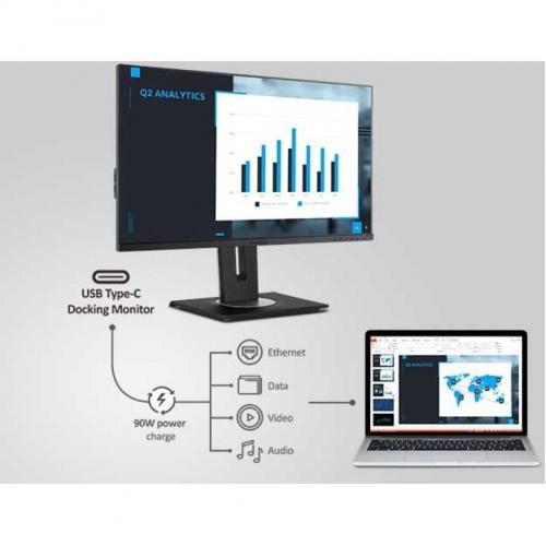 "Viewsonic VG2756 2K 27"" WQHD LED LCD Monitor   16:9   Black Alternate-Image7/500"