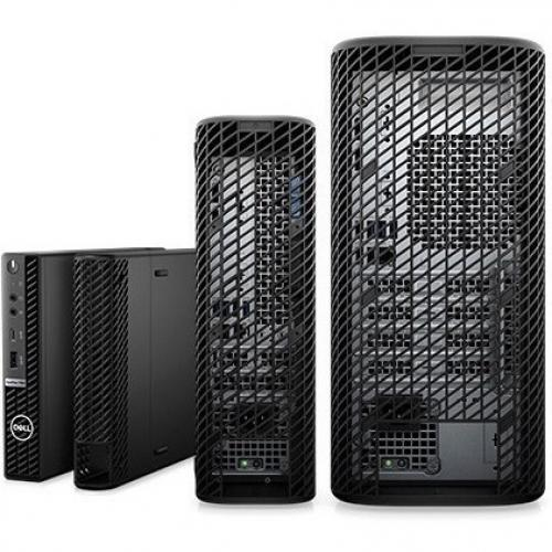 Dell OptiPlex 5000 5080 Desktop Computer   Intel Core I5 10th Gen I5 10500 Hexa Core (6 Core) 3.10 GHz   8 GB RAM DDR4 SDRAM   256 GB SSD   Small Form Factor   Black Alternate-Image7/500
