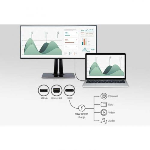 "Viewsonic VP3481A 34"" WQHD+ Curved Screen LED LCD Monitor   21:9 Alternate-Image7/500"