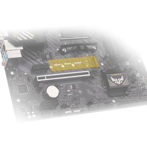 TUF GAMING A520M PLUS WIFI Gaming Desktop Motherboard   AMD Chipset   Socket AM4   Micro ATX Alternate-Image7/500