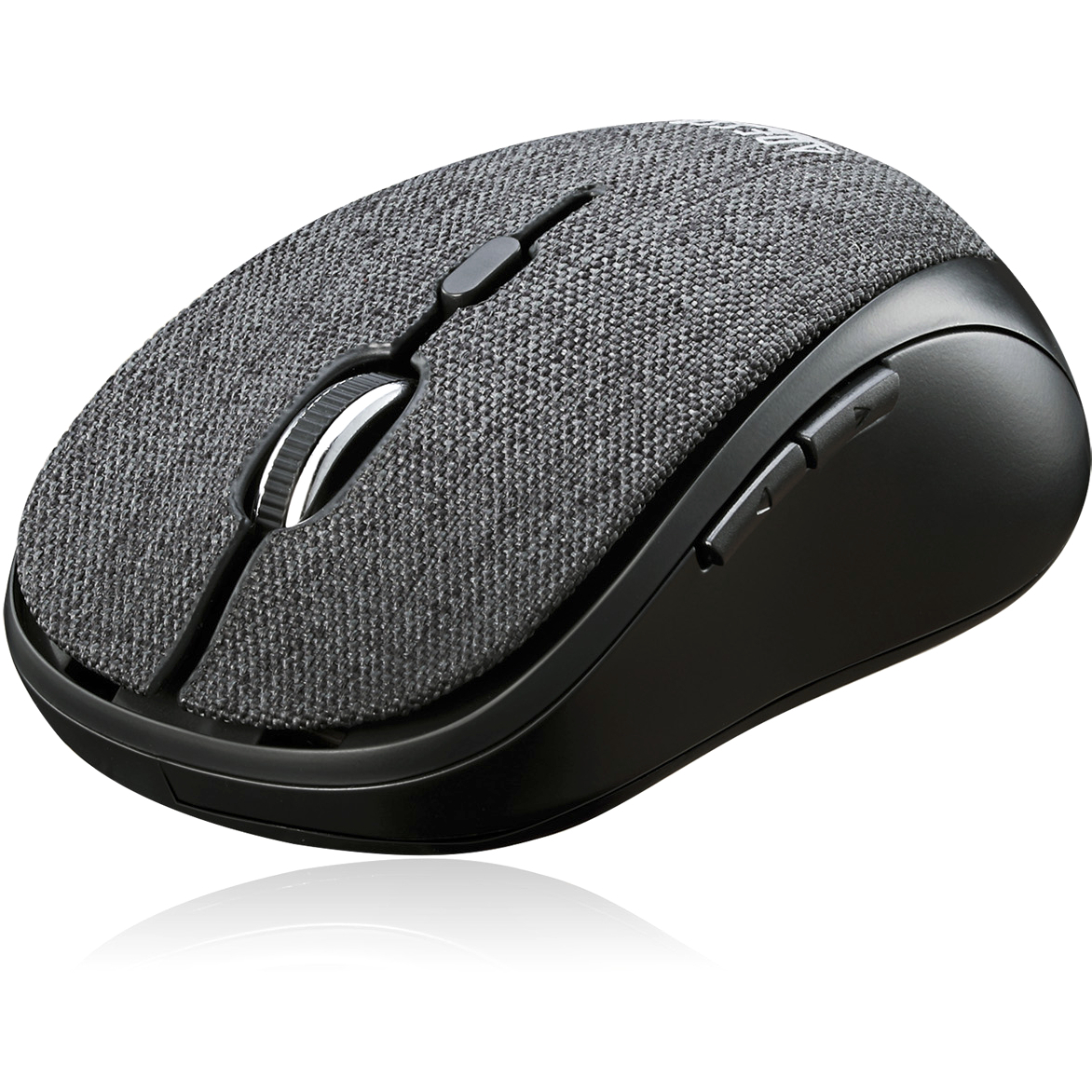 Adesso IMouse S80B   Wireless Fabric Optical Mini Mouse (Black) Alternate-Image8