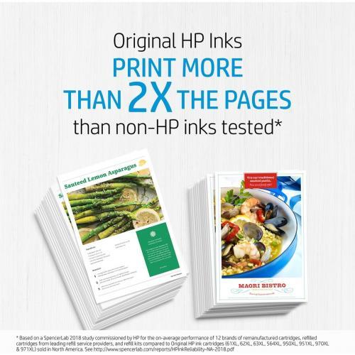 Original HP 74 Black Ink Cartridge | Works With HP DeskJet D4260, D4360; HP OfficeJet J5700, J6400; HP PhotoSmart C4200, C4300, C4400, C4500, C5200, C5500, D5300 Series | CB335WN Alternate-Image8/500