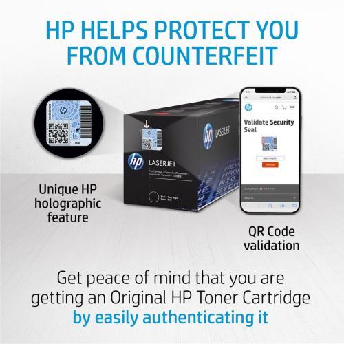 HP HEWCE410AG 305A Toner Cartridge Black Laser, Standard Yield 2200 Page Alternate-Image8/500