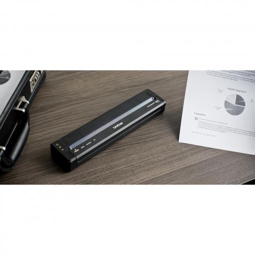 Brother PocketJet PJ773 Direct Thermal Printer   Monochrome   Portable   Plain Paper Print Alternate-Image8/500