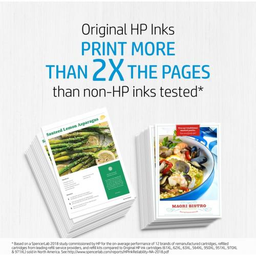 Original HP 952XL Cyan High Yield Ink Cartridge | Works With HP OfficeJet 8702, HP OfficeJet Pro 7720, 7740, 8210, 8710, 8720, 8730, 8740 Series | Eligible For Instant Ink | L0S61AN Alternate-Image8/500