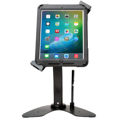CTA Digital Universal Dual Security Kiosk With Locking Holder And Anti Theft Cable Alternate-Image8/500