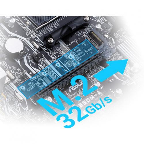 Asus Prime PRIME A320M K Desktop Motherboard   AMD Chipset   Socket AM4 Alternate-Image8/500