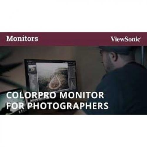 "Viewsonic VP2785 4K 27"" 4K UHD WLED LCD Monitor   16:9   Black Alternate-Image8/500"