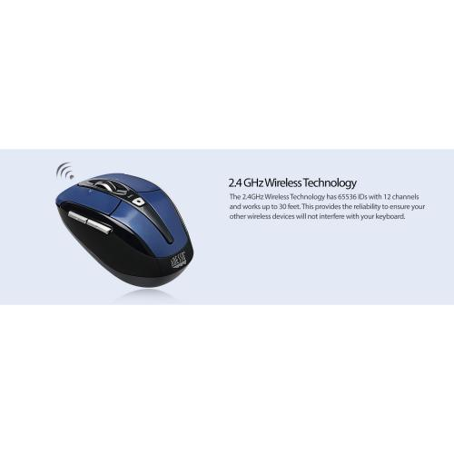 Adesso IMouse S60L   2.4 GHz Wireless Programmable Nano Mouse Alternate-Image8/500