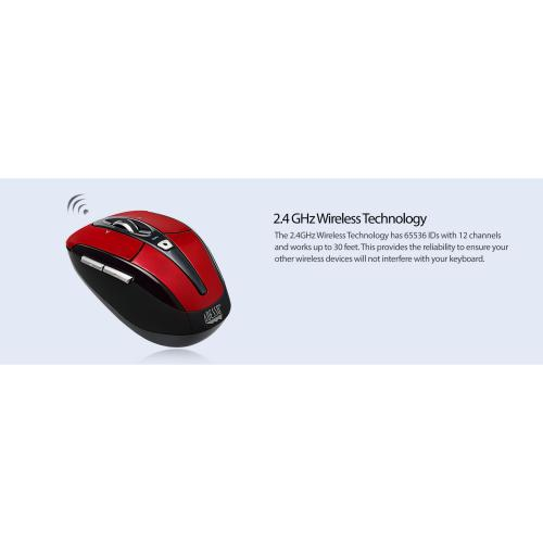 Adesso IMouse S60R   2.4 GHz Wireless Programmable Nano Mouse Alternate-Image8/500