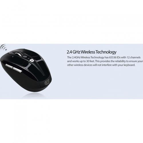 Adesso IMouse S60B   2.4 GHz Wireless Programmable Nano Mouse Alternate-Image8/500
