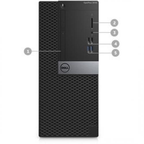 OPTIPLEX 3060 CORE I5 8 8500 8GB 1DIMMS 1TB 7.2K NO W10 Alternate-Image8/500