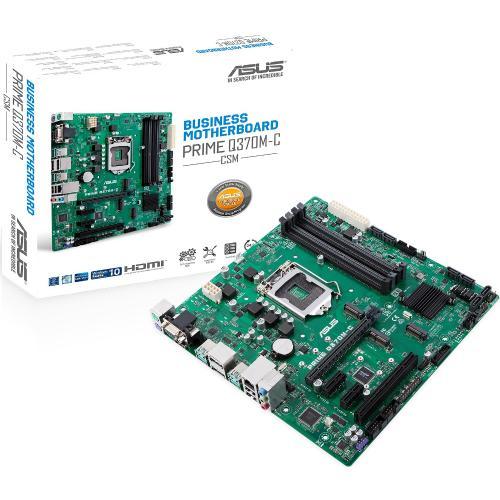 Asus Prime Q370M C/CSM Desktop Motherboard   Intel Chipset   Socket H4 LGA 1151   Intel Optane Memory Ready   Micro ATX Alternate-Image8/500
