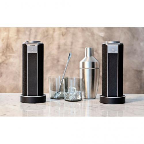 Cavalier Maverick CAV1BB PLUS Portable Bluetooth Smart Speaker   Black Alternate-Image8/500
