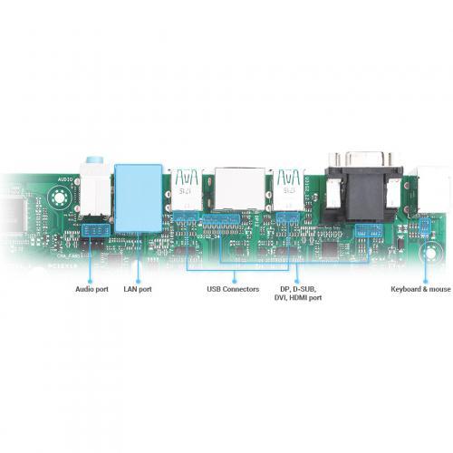 Asus Prime H310M C R2.0/CSM Desktop Motherboard   Intel Chipset   Socket H4 LGA 1151 Alternate-Image8/500