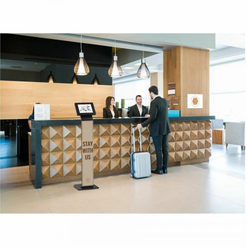 CTA Digital Premium Locking Floor Stand Kiosk Alternate-Image8/500