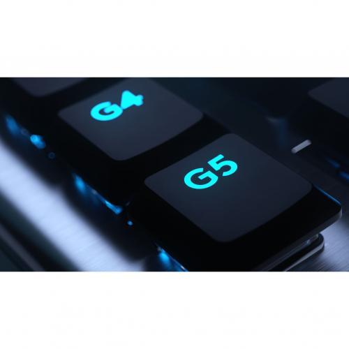 Logitech G815 Lightsync RGB Mechanical Gaming Keyboard Alternate-Image8/500