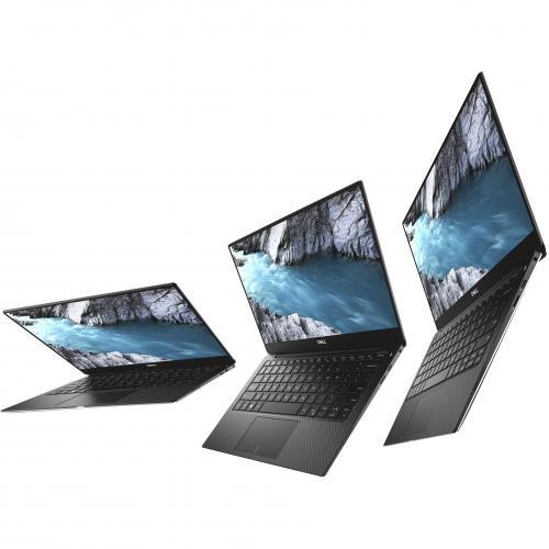 "Dell XPS 13 9380 13.3"" Touchscreen Notebook   Intel Core I7 (8th Gen) I7 8565U Quad Core (4 Core)   8 GB RAM   256 GB SSD   Platinum Silver, Carbon Fiber Black Alternate-Image8/500"