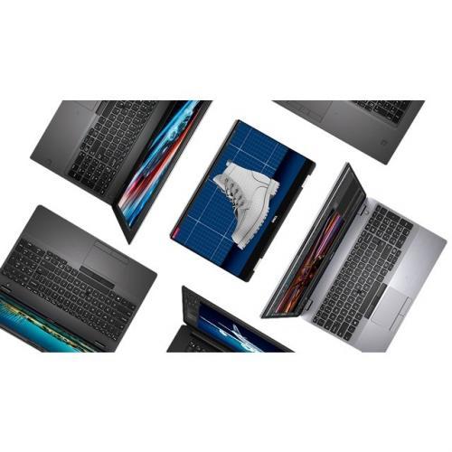 """Dell Precision 7000 7540 15.6"""" Mobile Workstation   1920 X 1080   Intel Core I7 (9th Gen) I7 9850H Hexa Core (6 Core) 2.60 GHz   8 GB RAM   512 GB SSD   Silver Alternate-Image8/500"""
