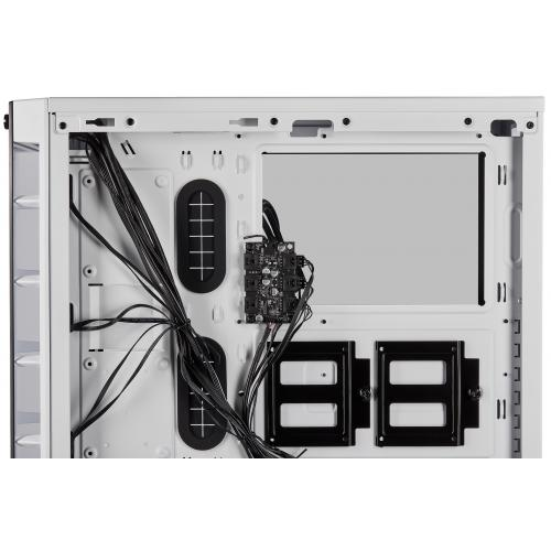 Corsair ICUE 465X RGB Mid Tower ATX Smart Case   White Alternate-Image8/500
