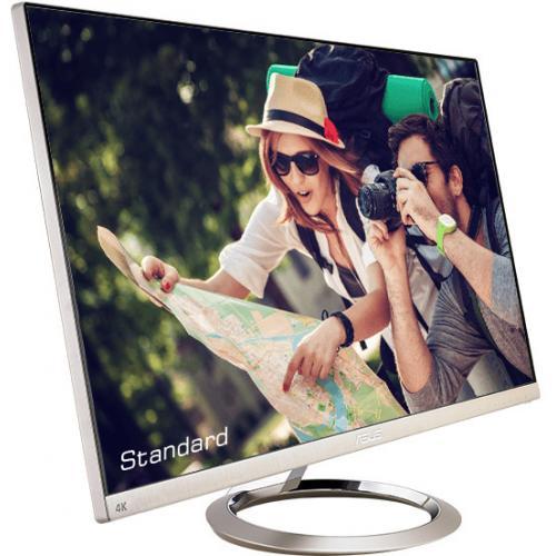 "Asus Designo MX27UCS 27"" 4K UHD LED LCD Monitor   16:9   Icicle Gold, Black Alternate-Image8/500"