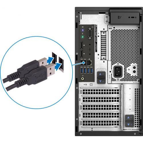 Dell Precision 3000 3630 Workstation   Core I7 I7 9700K   16 GB RAM   256 GB SSD   Mini Tower Alternate-Image8/500