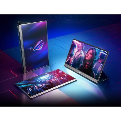 "Asus ROG Strix XG17AHPE 17.3"" Full HD Gaming LCD Monitor   16:9   Black Alternate-Image8/500"