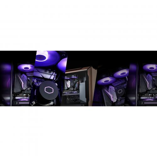 Cooler Master MasterLiquid ML240L V2 RGB RGB Cooling Fan/Radiator/Water Block Alternate-Image8/500