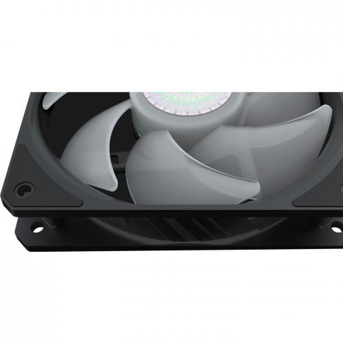 Cooler Master SickleFlow 120 V2 ARGB 3in1 120mm Square Frame Fan, Customizable LEDS, Air Balance Curve Blade Design, Sealed Bearing, PWM Control For Computer Case And Liquid Radiator Alternate-Image8/500