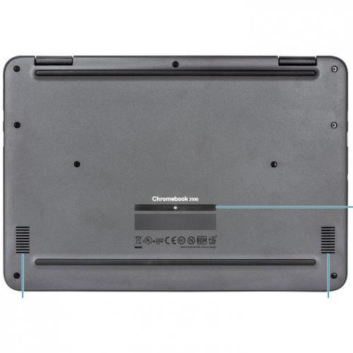 "Dell Chromebook 11 3000 3100 11.6"" Touchscreen 2 In 1 Chromebook   HD   1366 X 768   Intel Celeron N4020 Dual Core (2 Core)   4 GB RAM   32 GB Flash Memory Alternate-Image8/500"