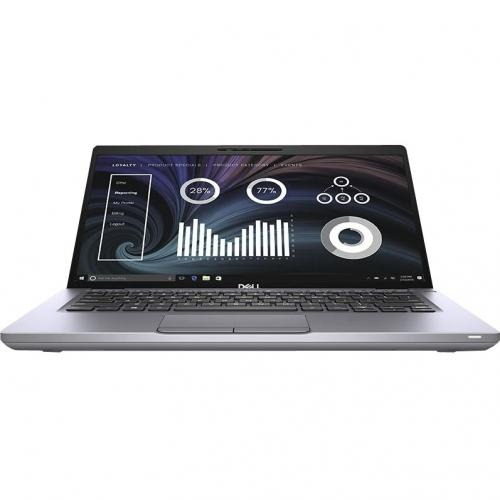 "Dell Latitude 5000 5410 14"" Notebook   Full HD   1920 X 1080   Intel Core I7 (10th Gen) I7 10610U Quad Core (4 Core) 1.80 GHz   8 GB RAM   256 GB SSD   Gray Alternate-Image8/500"